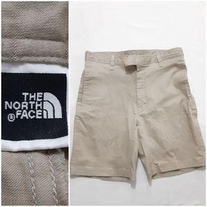 The North Face Mens Khaki Shorts Size 36